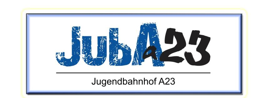 Logo JubA23 Jugendbahnhof