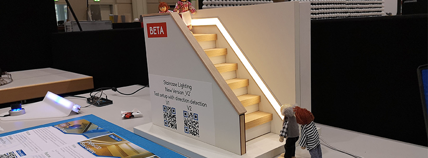 Smartes TreppenlichtV2 Prototyp - Smartes